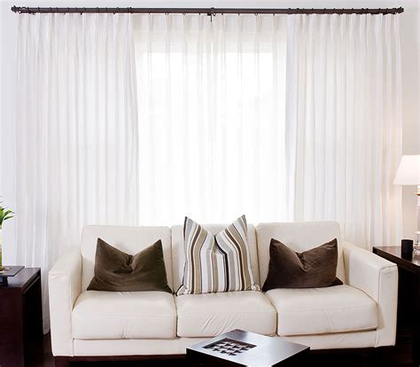sheer curtains behind drapes custom voile drapery drapestyle com