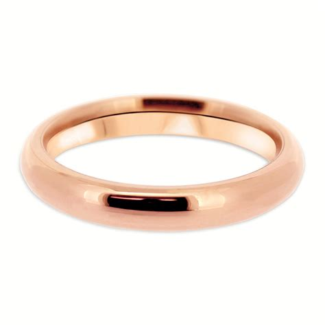Shaped Wedding Ring by 18ct Gold 3mm Court Shaped Vintage Wedding Ring Cn09