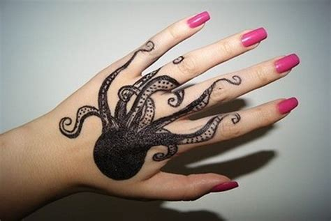 octopus hand tattoo tattoos askideas