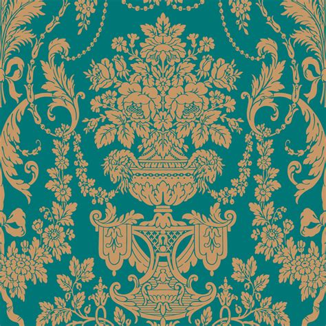 lowes wallpaper shop the wallpaper studio blue strippable vinyl prepasted classic wallpaper at lowes