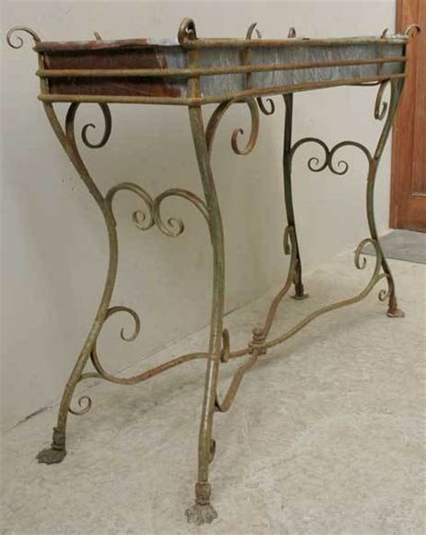 Wrought Iron Planter Stands by Wrought Iron Plant Stand From Arras At 1stdibs