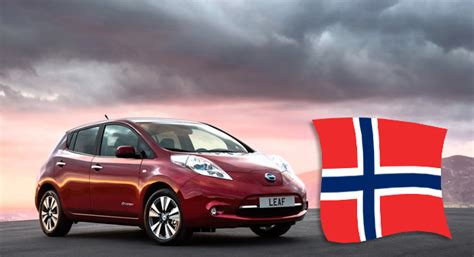 how many nissan leafs been sold norwegians embrace nissan leaf ev the country s 13th best