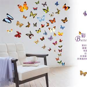 Butterfly Wall Stickers For Kids Rooms com buy 80 butterfly wall stickers for kids rooms butterflies wall