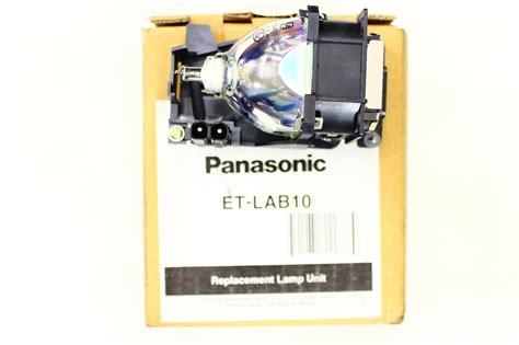 et lab10 panasonic projector l panasonic et lab10 replacement projector l