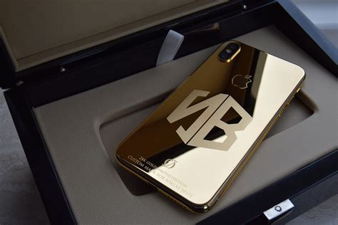 24k gold iphone xs plus engraving oj exclusive
