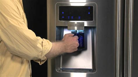 Water Dispenser On Fridge Not Working how to initialize your samsung refrigerator s maker