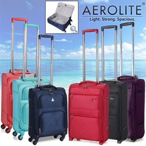 lightest cabin suitcase aerolite light weight lightest suitcase trolley cabin