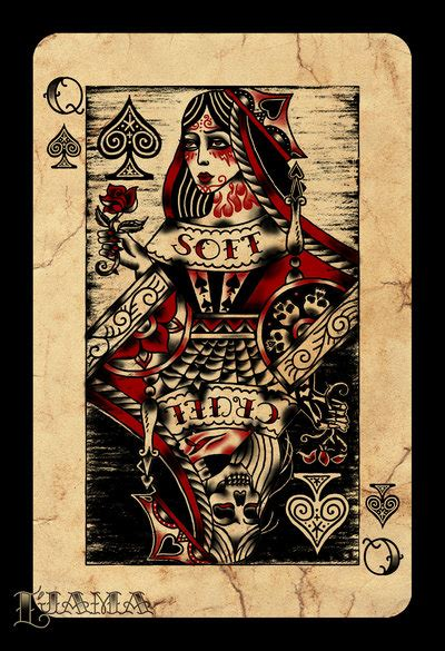 queen of spades by ljama on deviantart