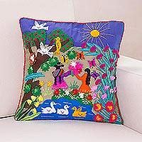 Handcrafted Cushions - pillows throws unique pillows and throws at novica