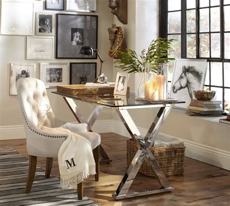 pottery barn caign desk ava desk from pottery barn nice size and it can be used