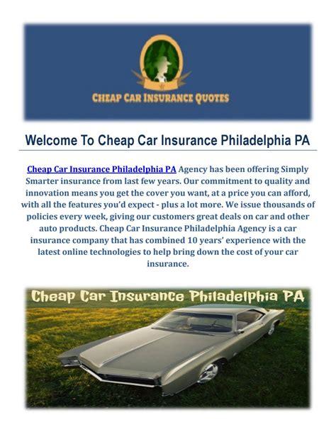 Auto Insurance Philadelphia Pa - cheap car insurance agency in philadelphia by cheap car