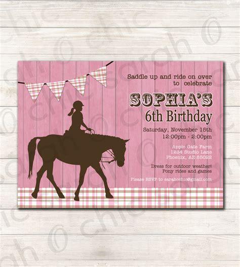 horse birthday invitations birthday printable horse birthday party invitation printable colors