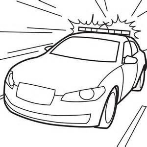 police car coloring pages coloring