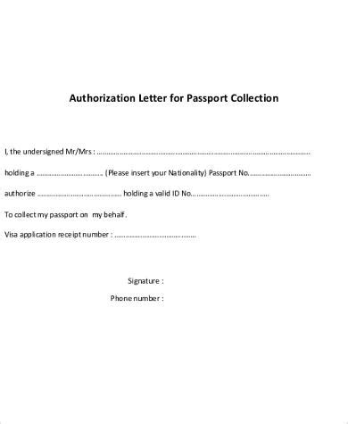 Certification Authorization Letter Sample Authorization Letter 8 Free Documents In Word Pdf