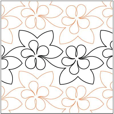 Pantograph Patterns For Longarm Quilting by Filagree Pantograph Filigree Pantograph Pattern By