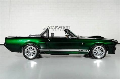 mustang fastback convertible 1967 ford mustang shelby 500e fastback convertible