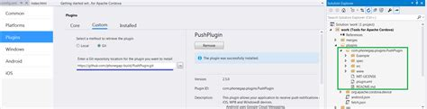 phonegap android tutorial visual studio android unable to add phonegap cordova push notification