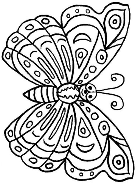 realistic butterfly coloring pages free printable butterfly coloring pages for kids