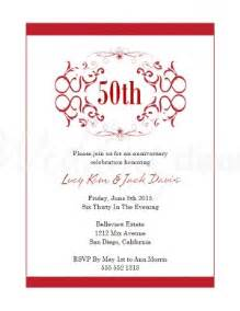 wedding anniversary invitation templates anniversary invitations template best template