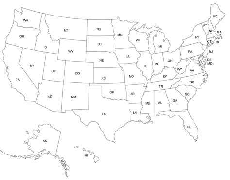 usa state map blank blank us map united states blank map united states maps