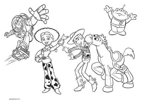 imagenes infantiles toy story dibujos de toy story para colorear