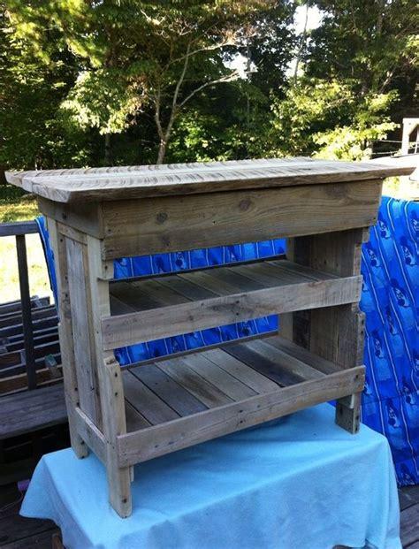 reciclar conejera d 233 sserte en palette mobilier r 233 cup pinterest madera