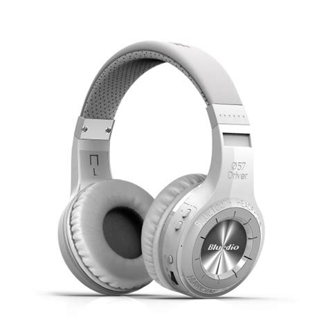 Promo Bluedio H Plus Turbine Headphone With Bluetooth 4 1 Putih bluedio turbine hurricane h bluetooth 4 1 wireless stereo headphones headset ebay