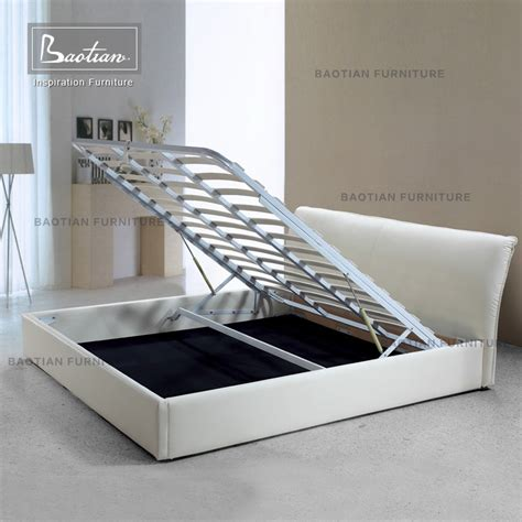 Hydraulic Bed Frame Bedroom Furniture Use Modern Hydraulic Storage Bed Frame Buy Storage Bed Hydraulic Bed Frame