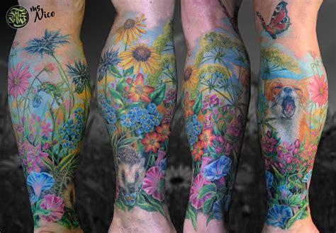 allstyle tattoo berlin friedrichshain wald und wiese im