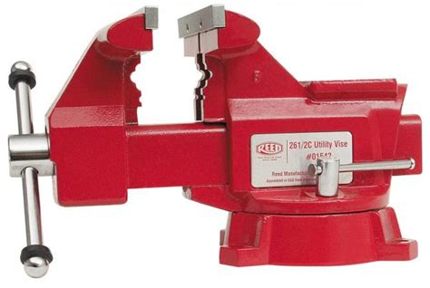 reed bench vise utility workshop vises reed manufacturing