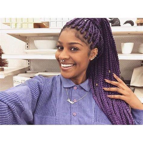 1000 ideas about purple box braids on pinterest box the gallery for gt pink purple box braids