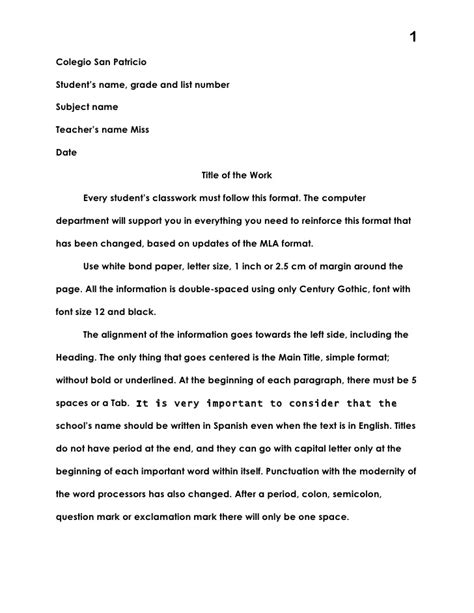 email format unilever mla format for science fair
