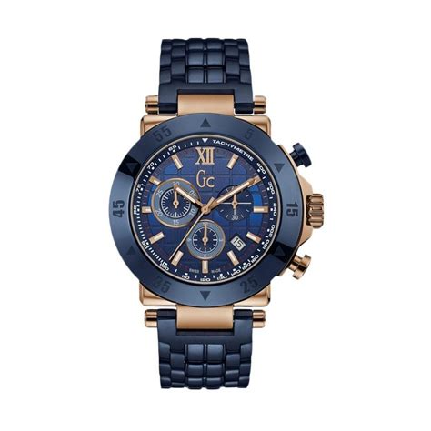 Jam Tangan Gc 7 jual guess collection gc jam tangan pria stainless biru rosegold x90012g7s harga