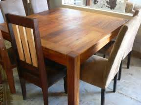 simple natural wood dining furniture square dining tables
