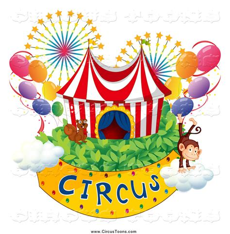 immagini free royalty free stock circus designs of monkeys