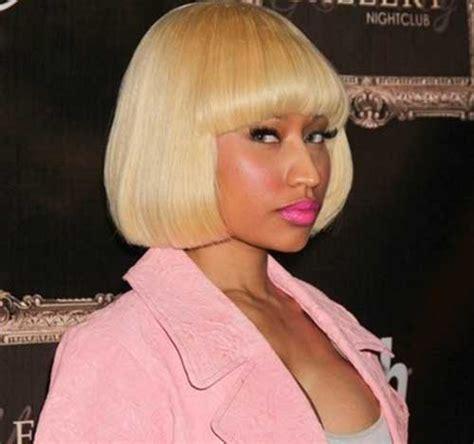 Nicki Minaj Hairstyles With Bangs by 15 Nicki Minaj Bob Hairstyles Bob Hairstyles 2017