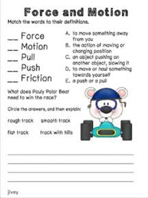 collection of types of forces worksheet ommunist