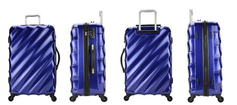 Koper Travel New Arrival 3in1 Set new design classical trolley trunk luggage shell