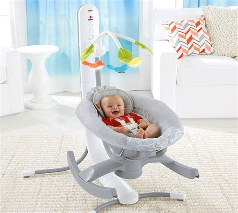 baby swing sleep rocking your baby to sleep there s an app and cradle