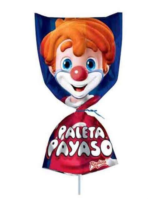 ricolino mini paleta payaso lollipop box   pieces