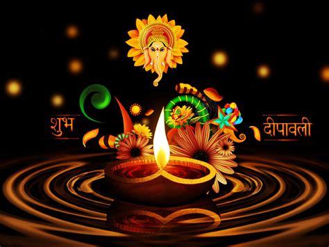 marvelous wallpapers happy diwali greetings with ganesha