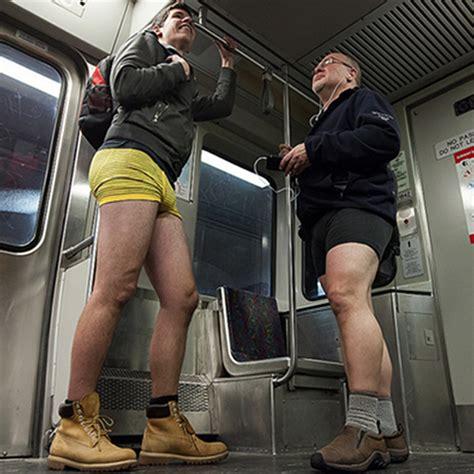 bostons   pants subway ride happening january