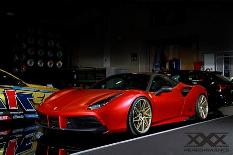 Ferari Power 488 gtb gets power boosted to 1000ps with tuning
