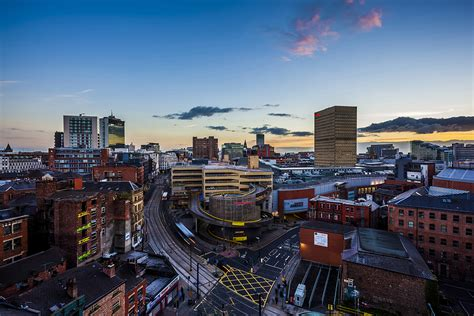 Cityscape Wall Mural image gallery manchester skyline