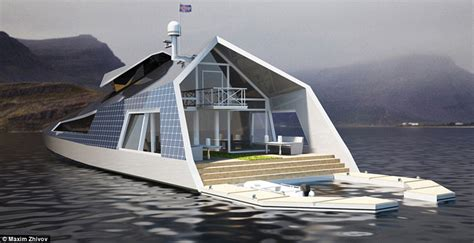types of houseboats maxim zhivov designs ultimate houseboat concept daily