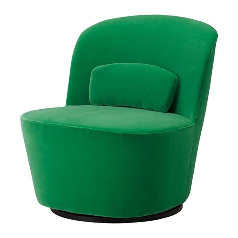 STOCKHOLM Swivel easy chair   Sandbacka green   IKEA