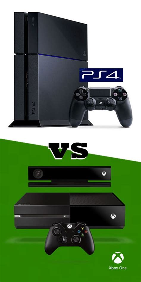 playstation 4 vs xbox one which is the better console the two entertainment and playstation