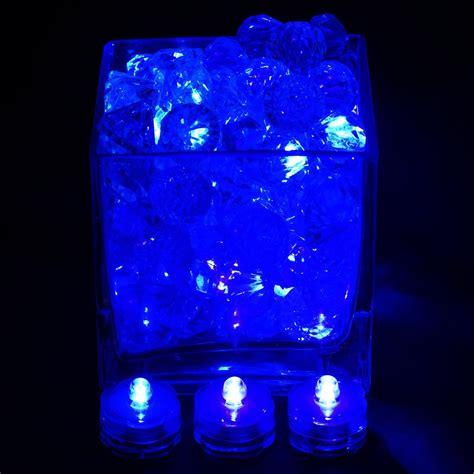 12 pcs wholesale submersible led waterproof blue light rgb