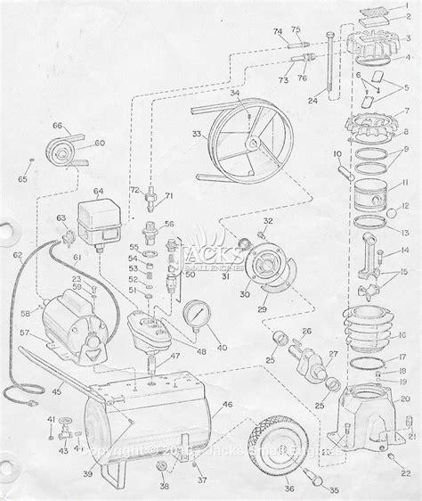campbell hausfeld  parts diagram  air compressor parts