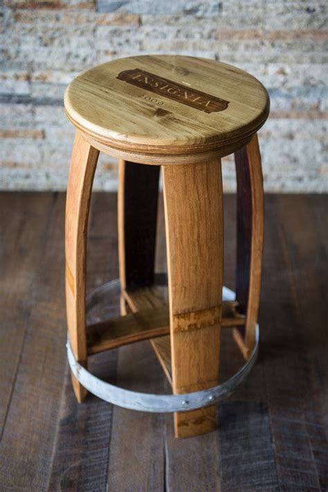 wine barrel bar stools wholesale wine crate top barrel stool